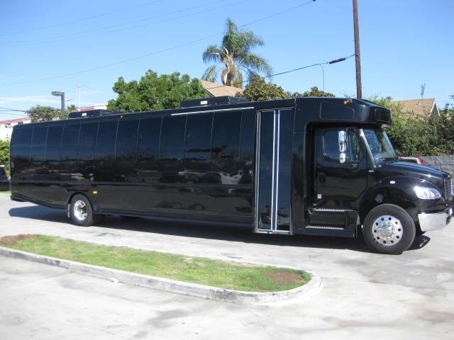 luxury tour bus rental